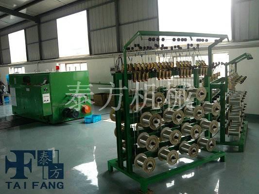 photovoltaic stranding machine