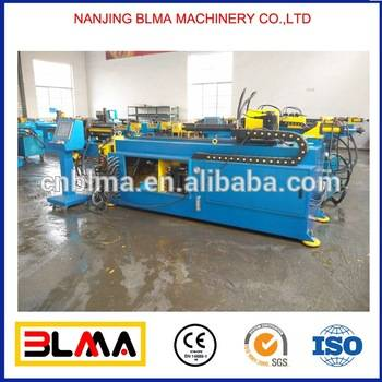 China manufacture price 3.5 inch cnc hydraulic copper square tube bending machine