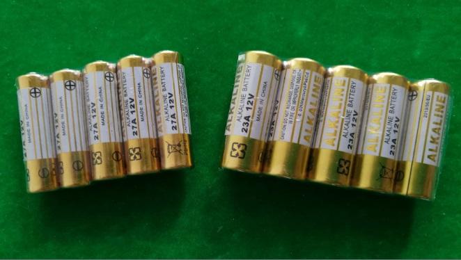 12V 23A 27A Alkaline battery A23 MN21 V23GA LR23 L1028/27A L828 M for remote control