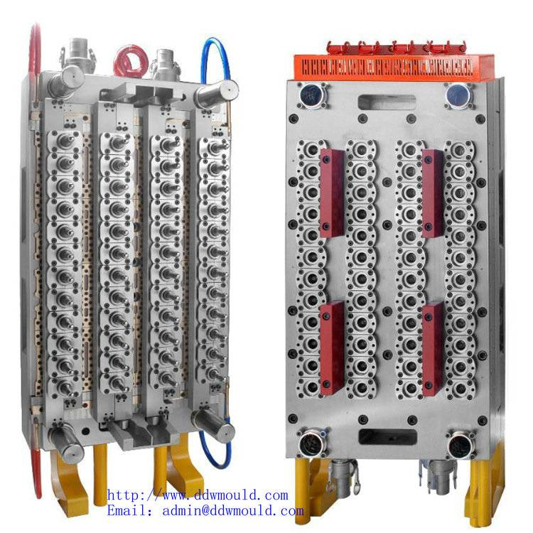 DDW Pneumatic valve gate, self-locking PET Preform injection molding for plastic packing