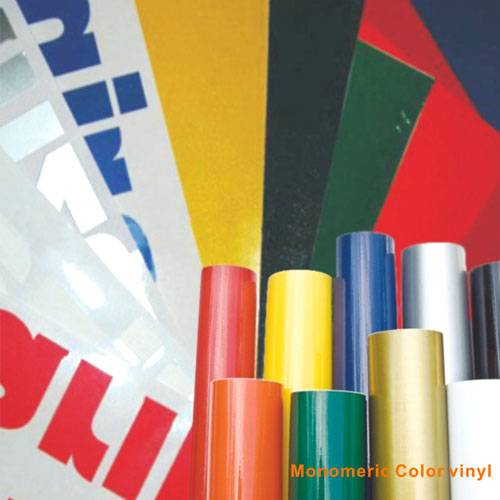 Monomeric color vinyl