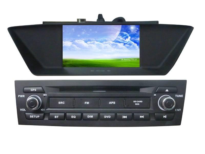 6.95'' Digital 800*RGB*480 TFT Monitor car DVD player for BMW -E84/X1(2009-2013)