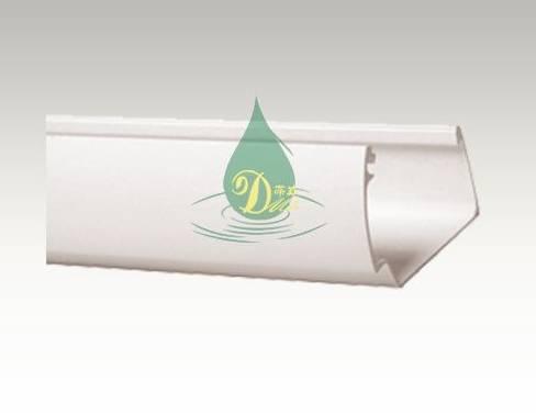Hot sale! 5.2 inch pvc gutter system ,pvc rain drainage system, View pvc rain drainage system
