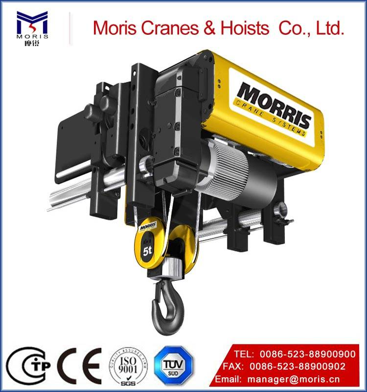 Industry Lifting Morris wire rope hoist