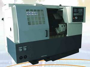 CNC Turning Lathe Machine CK40 (Oblique bed)