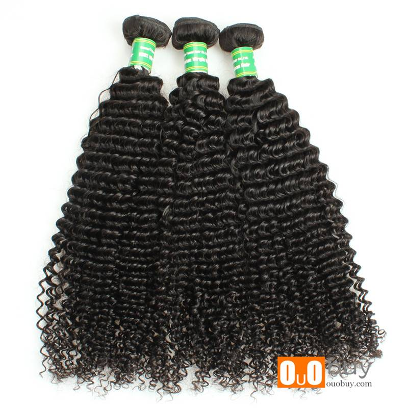 Cheap Price 8-28inches Virgin Peruvian Kinky Curly Hair 7A Weaving With Best Quality