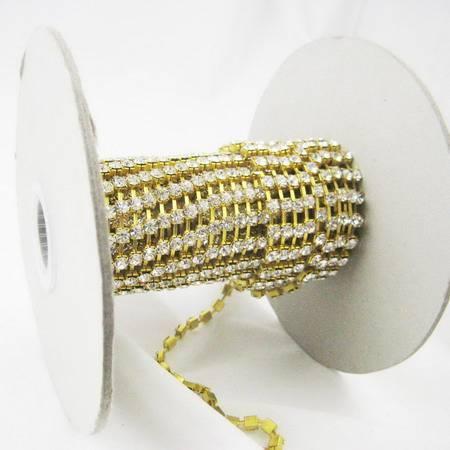 Oktant rhinestone cup chain