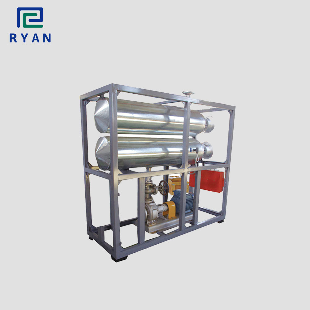 Electric heating thermal transfer oil boiler for jacket or coil