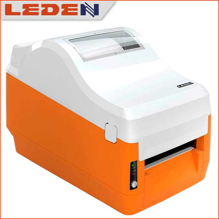Limited sales Orange design thermal label printer