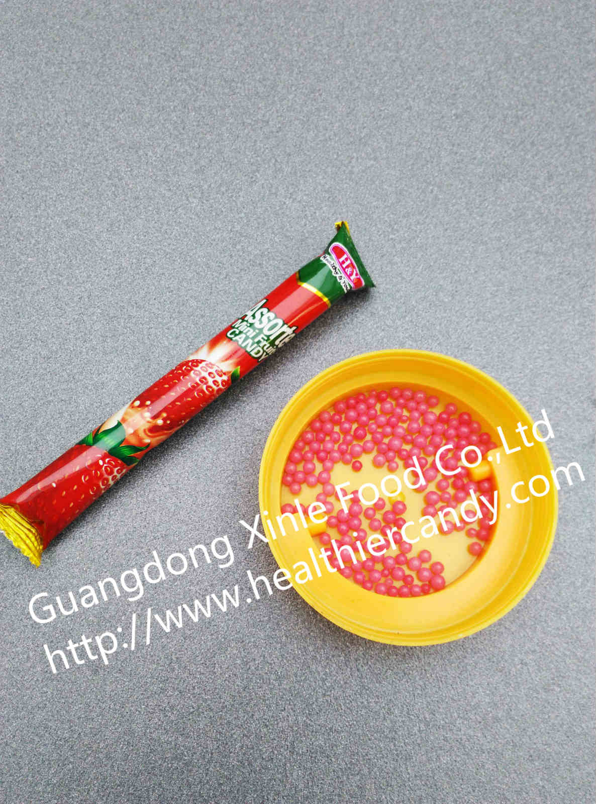 Hot Sale Super Candy Strawberry Flavour Nice Taste and Sweet Promotional Snack
