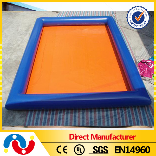 Hot Selling Inflatable Above Ground Pool Square Swimming Pool