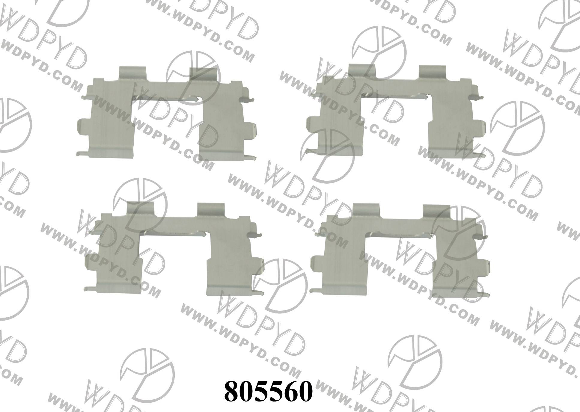 WELLDE DISC BRAKE PAD CLIP FOR FRONT NISSAN 41012-53000