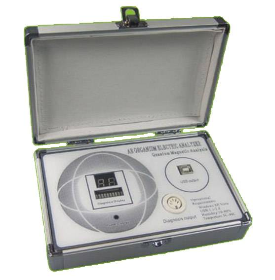 Quantum Magnetic Resonance health Analyzer with 34 reports mini size