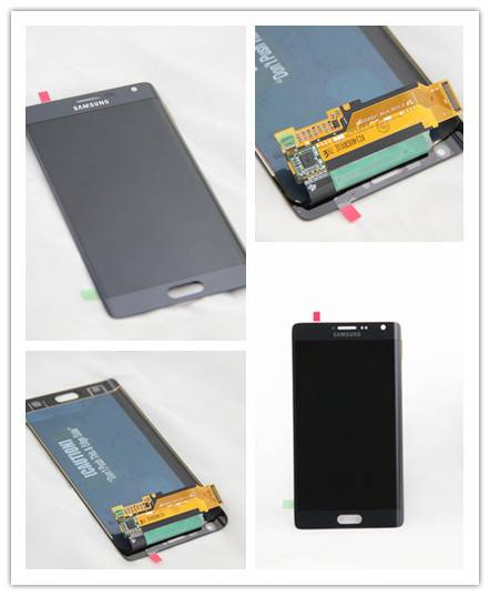 Repair parts display LCD assembly for Samsung S6 Edge