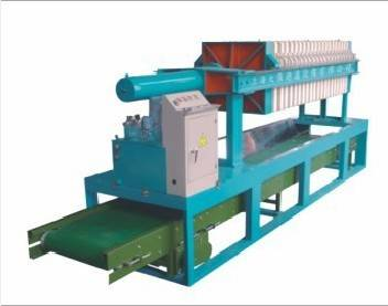 Cast iron&rubber material 800 Hydraulic Filter Press