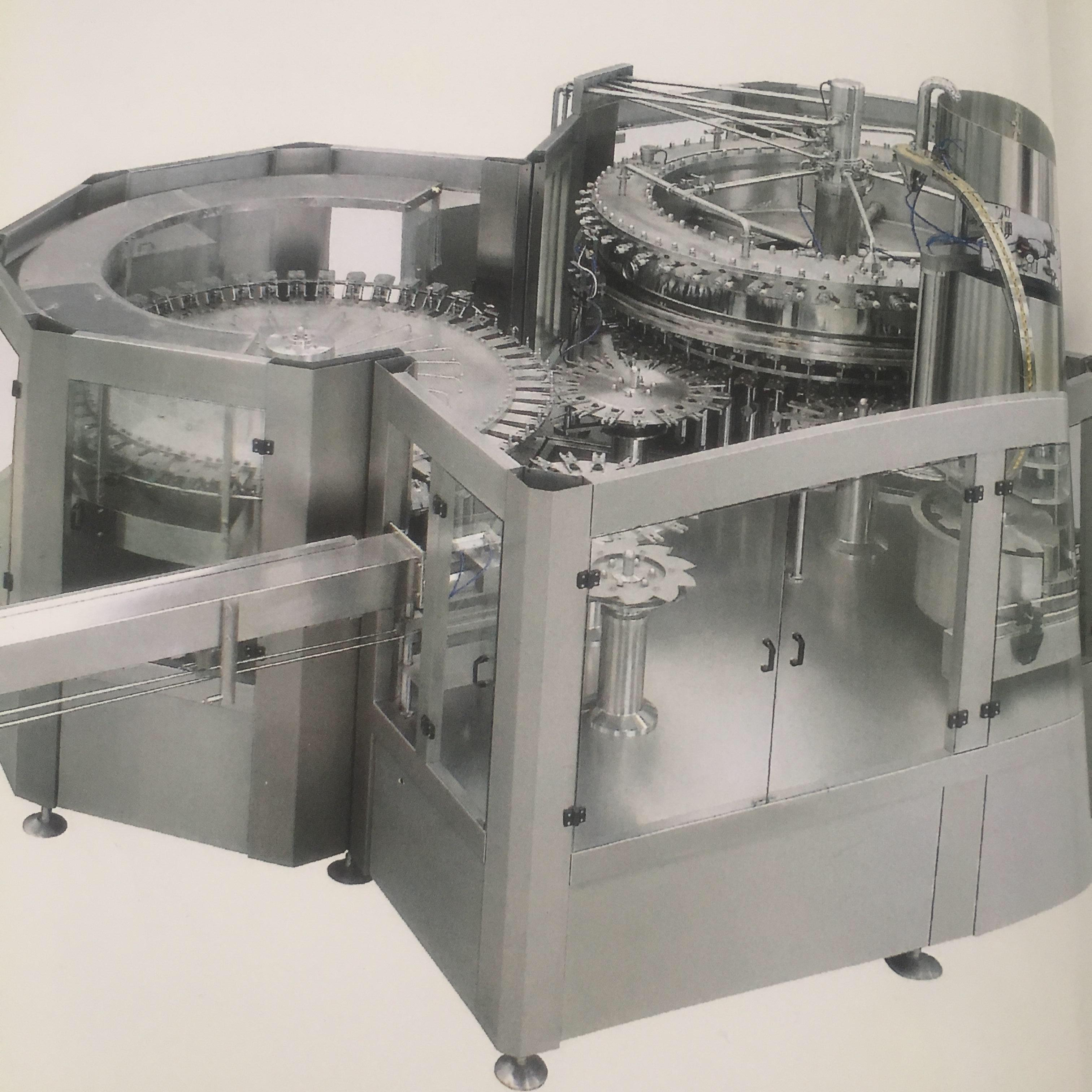 washing-filling-capping 3-in-1 machine