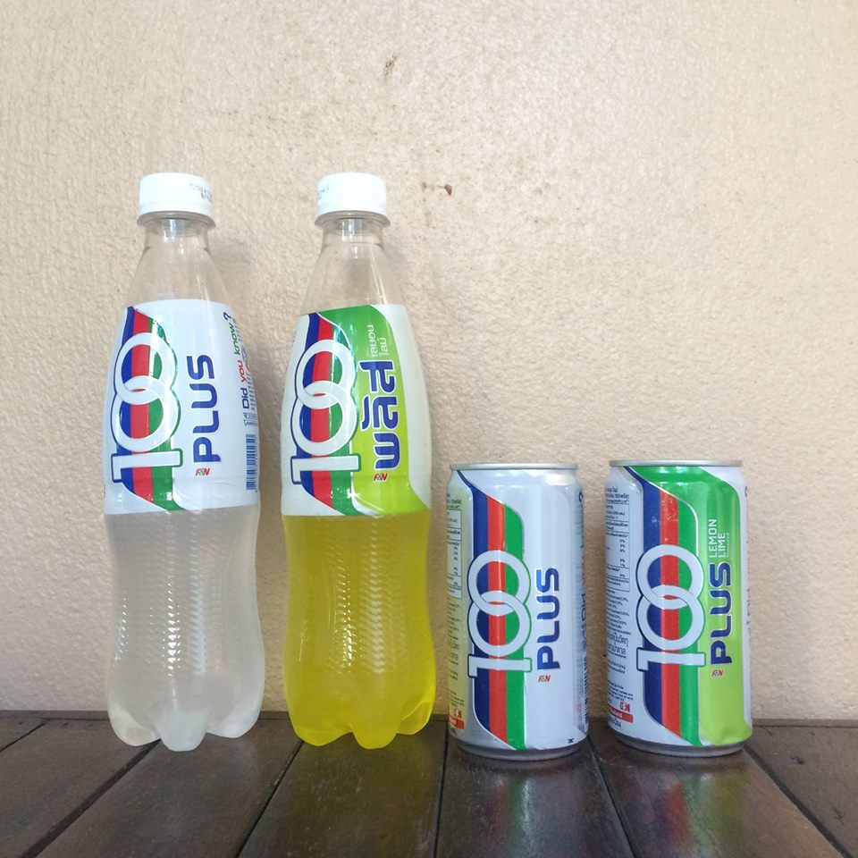 100 plus isotonic drink, mountain dew drink,