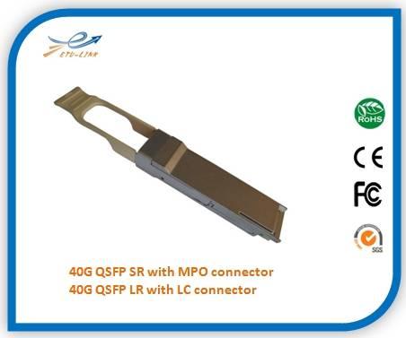 40G QSFP 1310nm CWDM 10KM LC connector