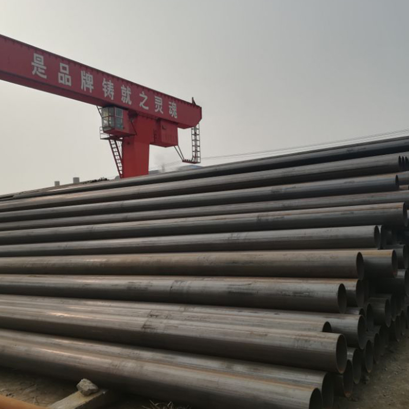 china supplier of ERW steel pipe for pipeline construction