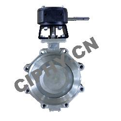 Cast Steel Soft Sealing Double Eccentric Butterfly Valve DIN3352-K1 PN10/16/25/40