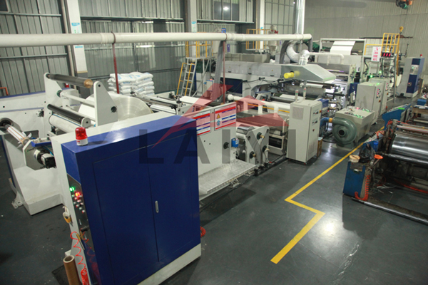 LY-ADPC Double Sided Extrusion Laminating machine