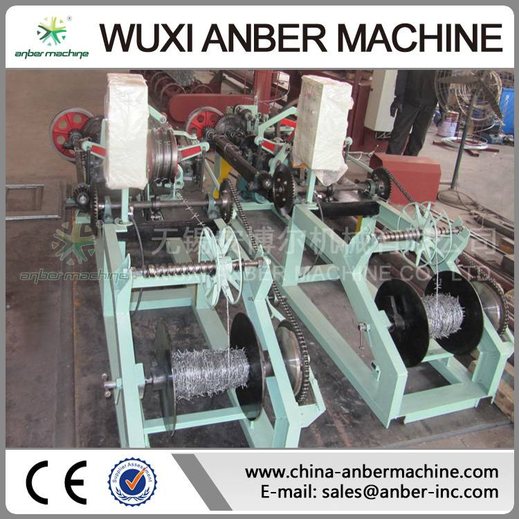 CS-C reverse twist barbed wire machine