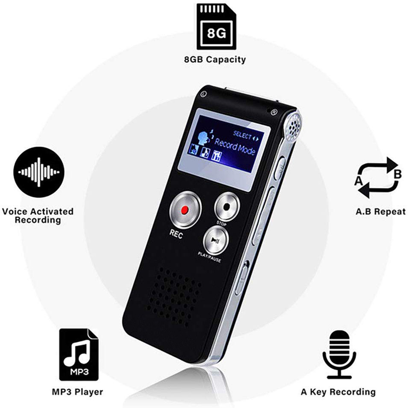 Factory Direct Supply Mini Digital Voice Recorder 560 Hours' Recording Telephone Recorder