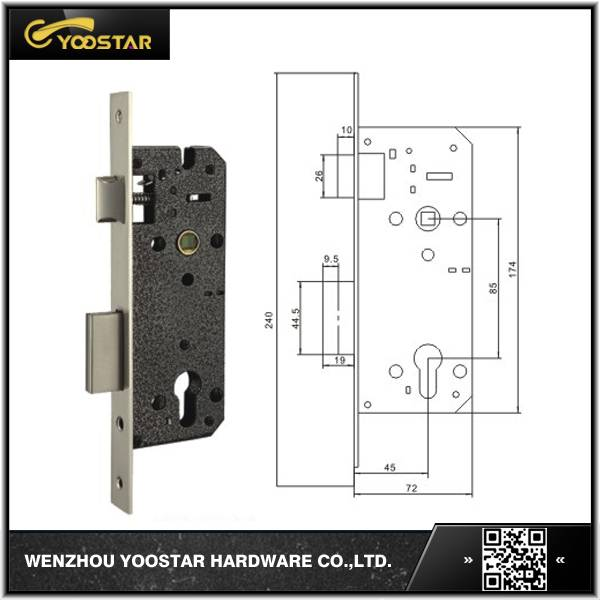 hot sale cheap price 85x45mm lock body