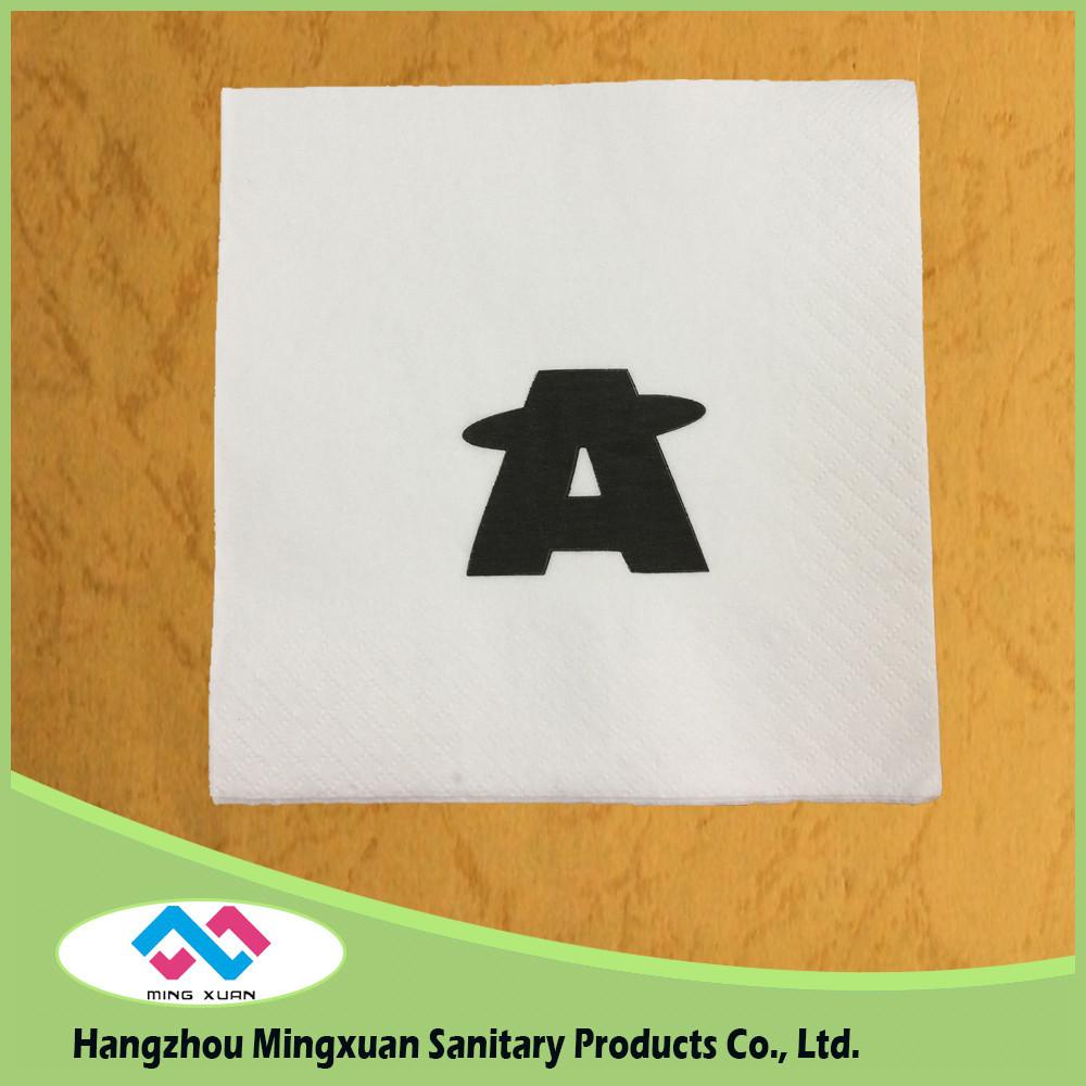 23x23cm 2ply Printed Beverage Napkin