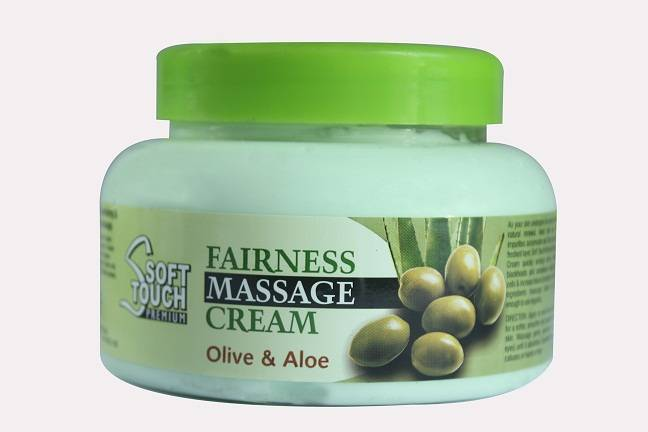 Soft Touch Fairness Massage Cream (Olive &Aloe)