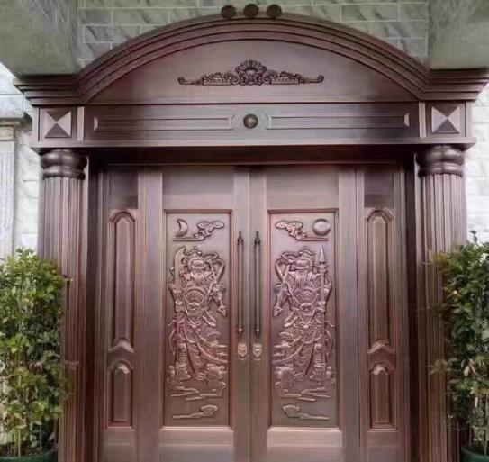 Double Leaf Luxurious Cooper Door And Window