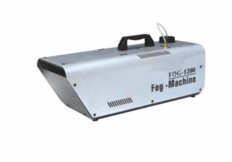 1200W  effect fog  smoke machine