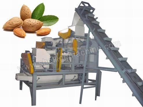(1000 kg/h) Almond Cracking & Separating Line