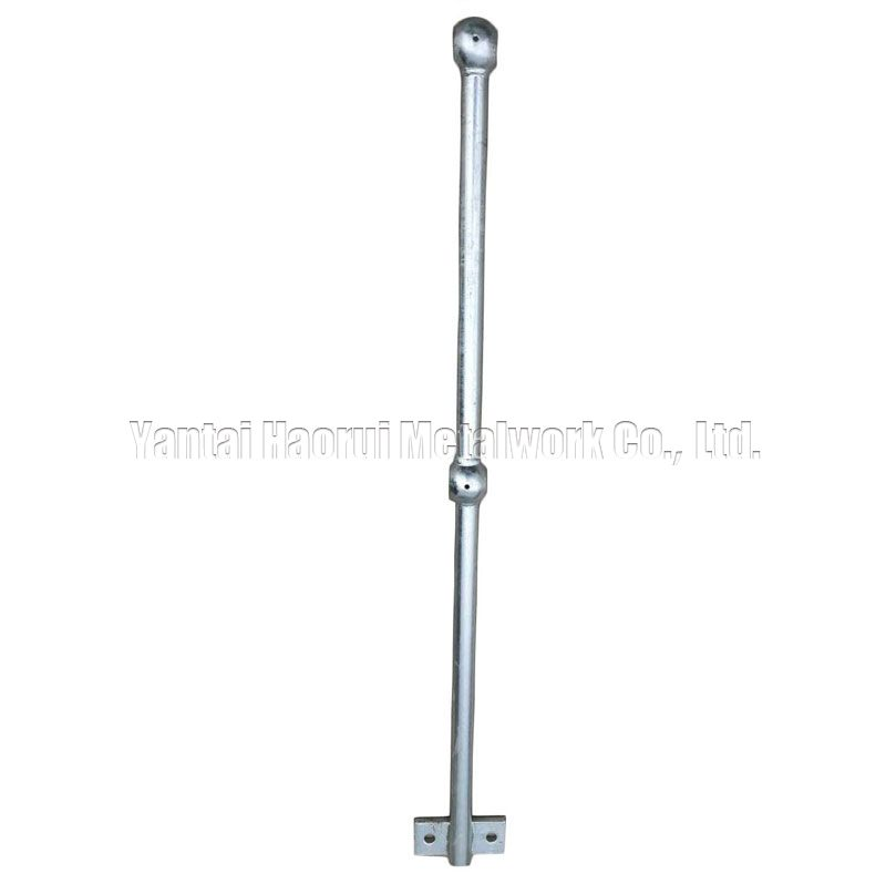 Ball joint railing