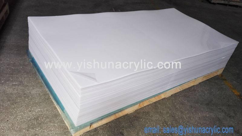 milky white acrylic pmma board
