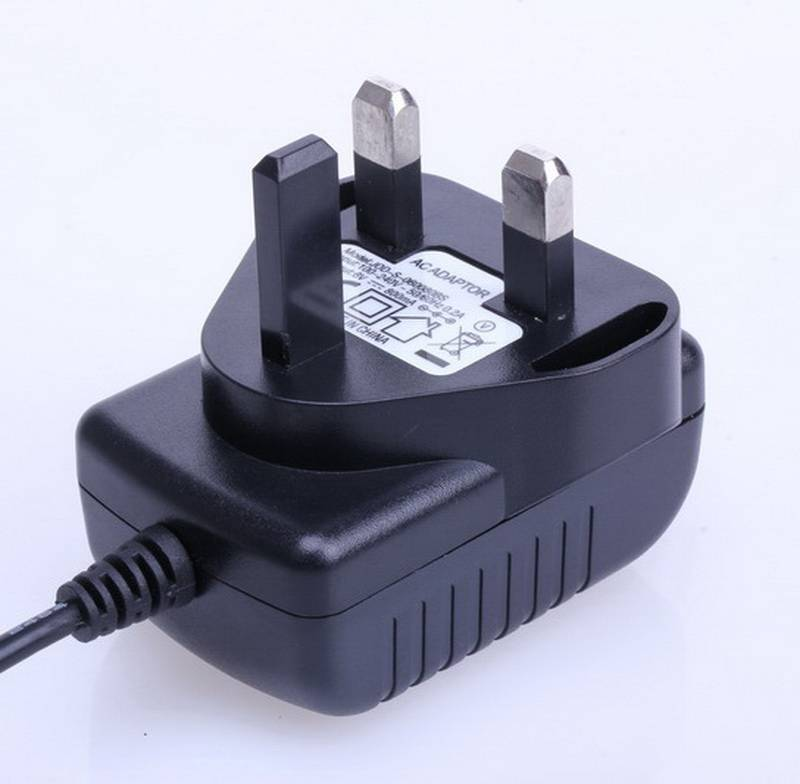 High-quality Household Car Charger Cigarette Lighter110V-220V AC to 12V DC BS Plug Car Power Adapter
