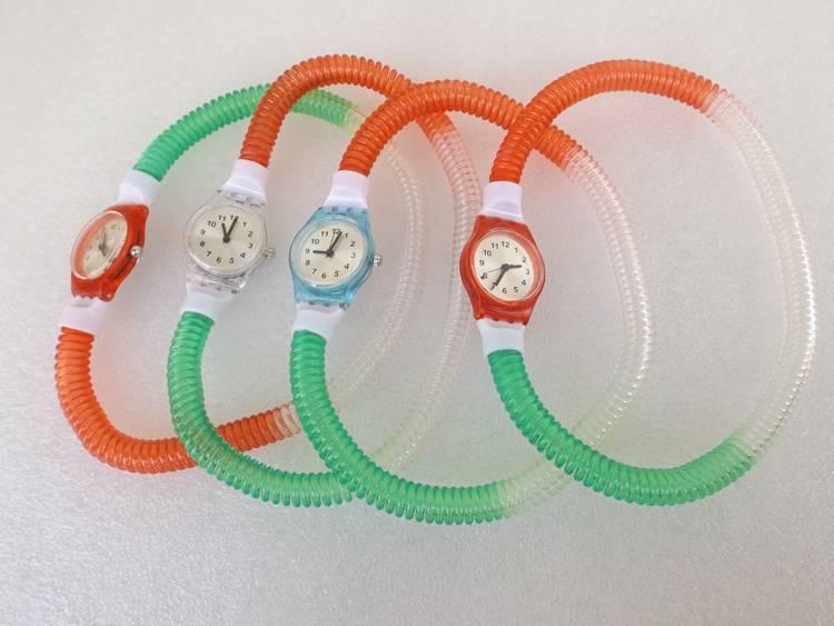 Cheap colorful children Watch, Slap Silicone Band, Quartz Movement Children's Watch Manufacturer