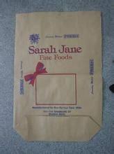 PP PE woven plastic 25kg brown sack kraft paper cement bag