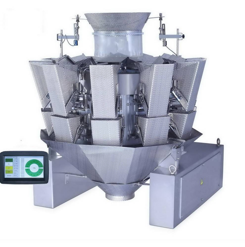 10 heads automatic weighing machine