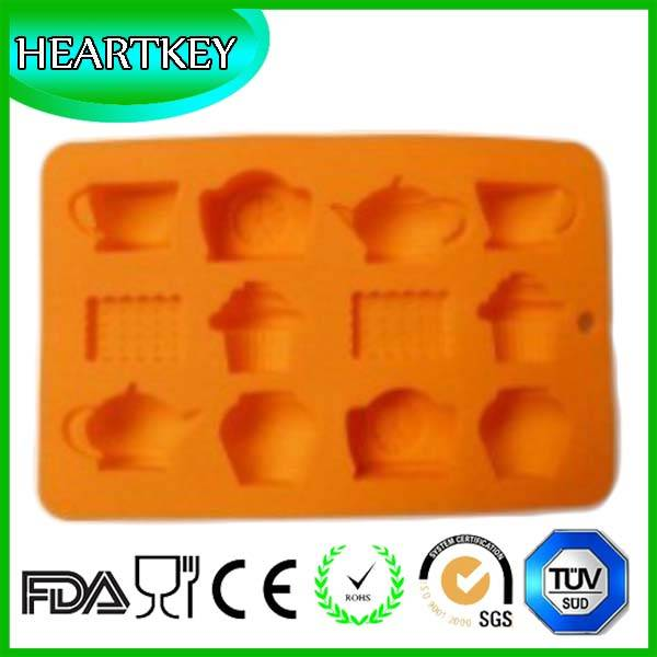 2016 Baking Tools Popular Wholesale Silicone Cake Mold with FDA&LFGB