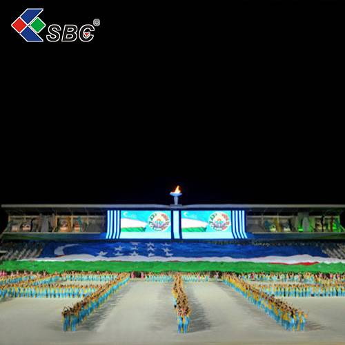 shenzhen factory price led videowall full color P6.94 outdoor rental led display screen for event/co