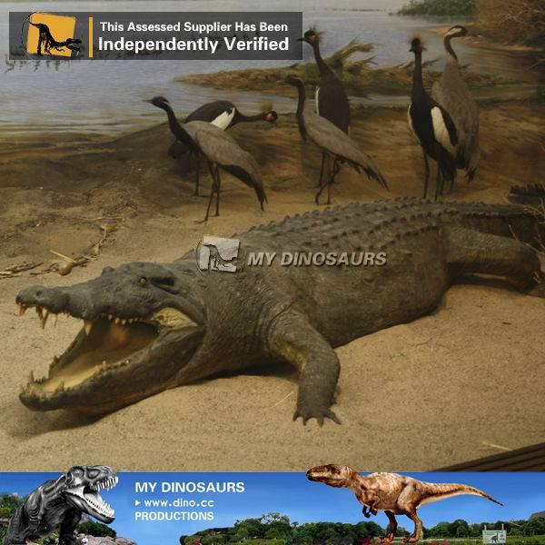Animatronic animal crocodile