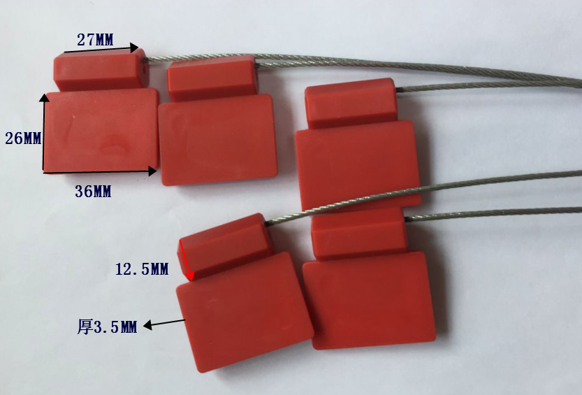 14443A 13.56MHz Ntag 213 HF hexagonal seal cable tie tag