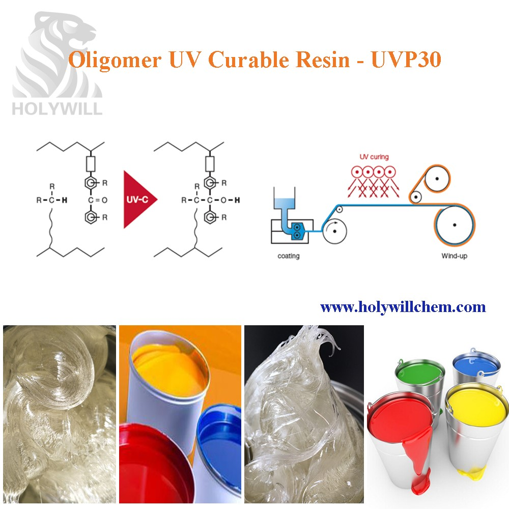 UV Offset Ink Resin With Superior Printability UVP30