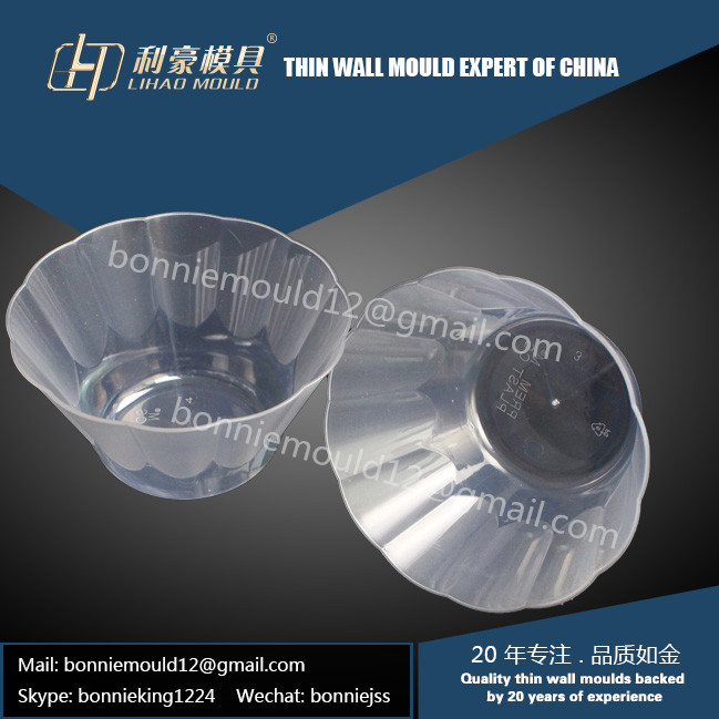 high speed thin wall bowl mould