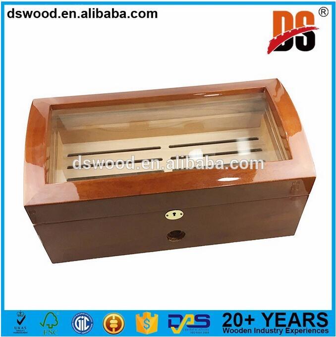 China factory wood cigar humidor