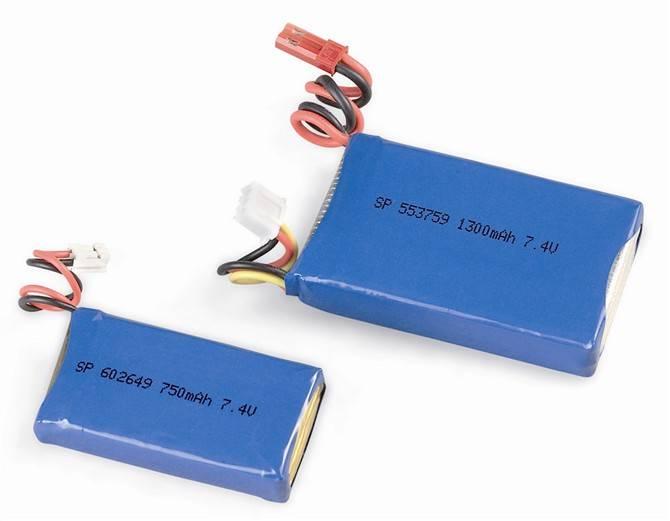 3.7V 755568 3300mAh lithium polymer battery
