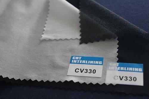 woven fusible circular knit interlining-CV330(interfacing)
