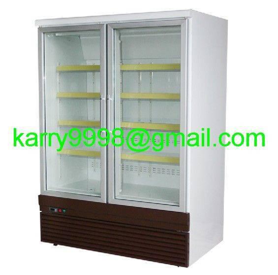 Vertical Freezer/Chiller Showcase(Two Doors)