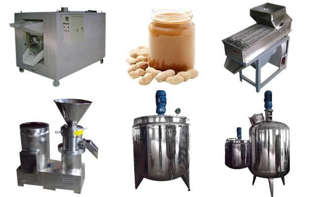 High Efficiency Peanut Butter Production line(100 Kg/hour)